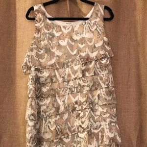 Dressbarn ruffled dress